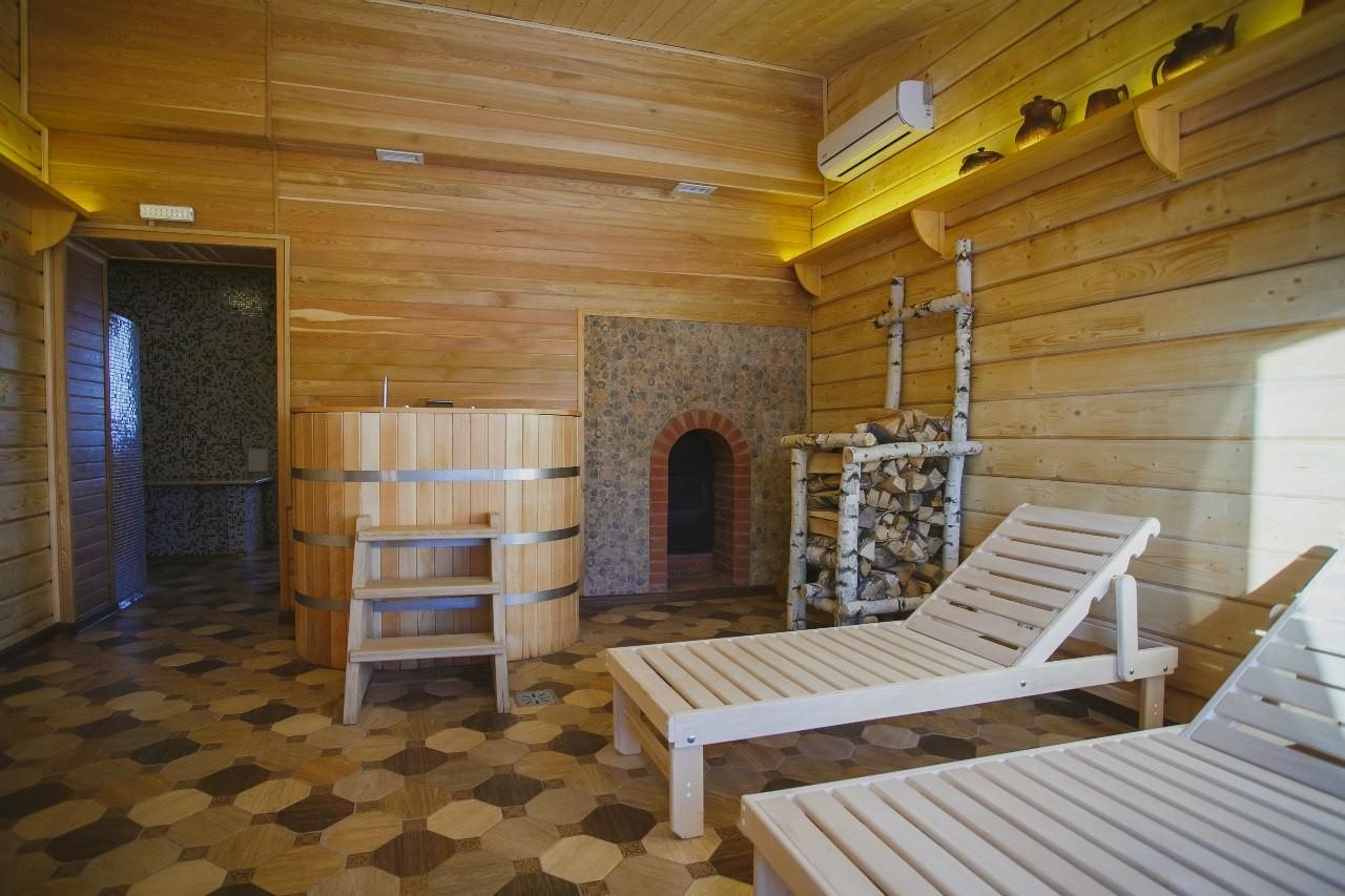Светлая баня, банный дом - №1
